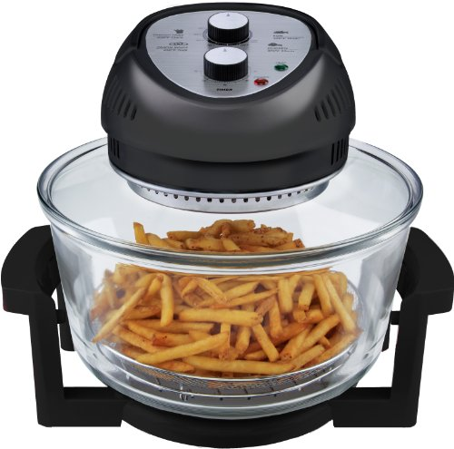 Big Boss 9065 1300-watt Oil-less Air Fryer, 16-Quart, Black