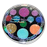 11 Colors Neon Glitter Cream Pallette For Eye Face Lip Makeup Color # 4