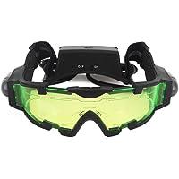 Zogin Lunettes de protection, vision nocturne avec bandes élastiques réglables Avec lampes amovibles
