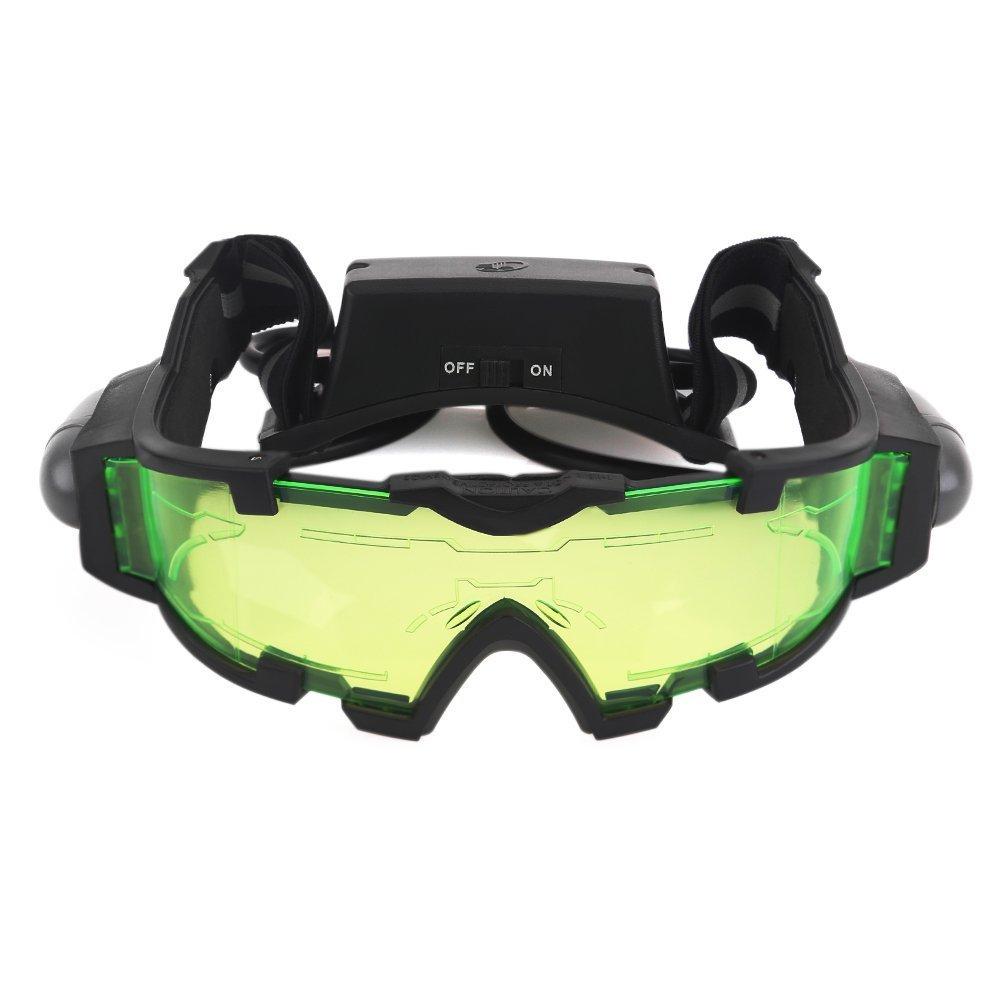 ZOGIN Gafas de Visión Nocturna con Bandas Elásticas Ajustables Gafas Protectoras de Ojos con Luces Extraíbles 6052847389644