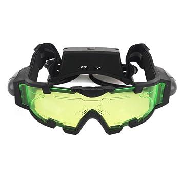 ZOGIN Gafas de Visión Nocturna con Bandas Elásticas Ajustables Gafas Protectoras de Ojos con Luces Extraíbles: Amazon.es: Electrónica