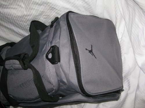 Nike Air Jordan Duffle Gym Bag Basketball Gray Black Duffel - Buy Online in  KSA. nike products in Saudi Arabia. See Prices 594e0f0063157