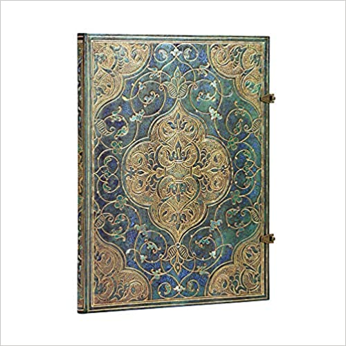 Unlined Grande Turquoise Chronicles Journal