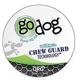 goDog Crazy Tugz Monkey Tough Plush Dog Toy with