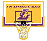 Los Angeles Lakers Basketball Plastic Hoop Sign NBA 9.5''x9''