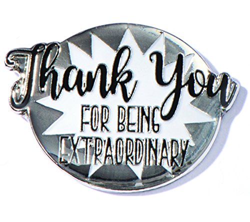 Thank You for Being Extraordinary Appreciation Award Lapel Pins, 12 (Appreciation Lapel Pin)
