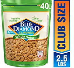 Whole Natural Blue Diamond almonds are the best way to appreciate the flavor of the almond. It's also a good way to get a handful of almonds' benefits every day.