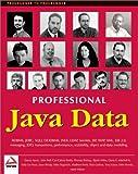 img - for By Carl Calvert Bettis Professional Java Data: RDBMS, JDBC, SQLJ, OODBMS, JNDI, LDAP, Servlets, JSP, WAP, XML, EJBs, CMP2.0 [Paperback] book / textbook / text book