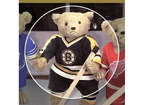 American Needle Boston Bruins NHL Blonde Cooperstown Teddy Bear ()