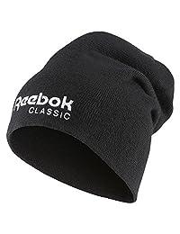 Reebok Classic Unisex Foundation Beanie, Black, OSFM