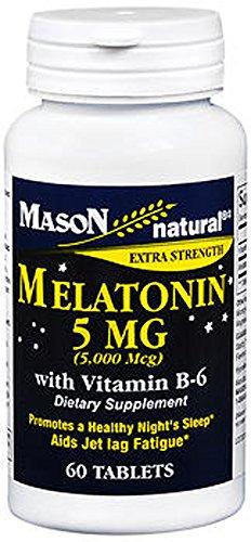MELATONIN TABS 5 MG MASON 60