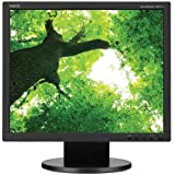 "NEC AccuSync AS172-BK 17"" LED LCD Monitor - 5:4 - 5 ms - Adjustable Display Angle - 1280 x 1024 - 250 Nit - 1,000:1 - SXGA - DVI - VGA - 11 W - Black"
