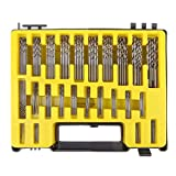 Awakingdemi Drill Bits,tHSS Twist Drill,150-piece Mini Twist Drill Bit Kit HSS Micro Precision Twist Drill 24 Sizes 0.4-3.2mm (150pc HSS twist)