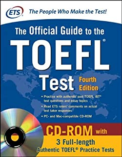 The Official Guide to the TOEFL Test (With CD) 4th Edition price comparison at Flipkart, Amazon, Crossword, Uread, Bookadda, Landmark, Homeshop18