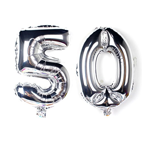 50 birthday numbers - 6