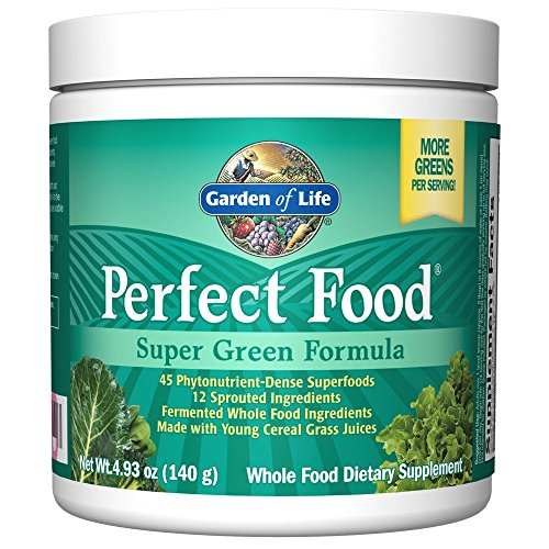 Garden Of Life Whole Food Vegetable Supplement Perfect Food Green Superfood Dietary Powder