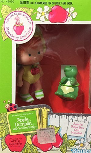 Strawberry Shortcake Apple Dumplin' Doll With Tea Time Turtle Pet 1980 by Kenner (Turtle Time Tea)