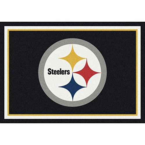 Pittsburgh Steelers NFL Team Spirit Area Rug by Milliken, 5'4