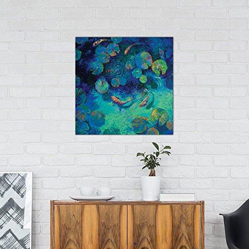 Icanvas taiwanese blue by iris scott canvas print