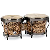 Latin Percussion Aspire Series Bongos - Havana Cafe with Brushed Nickel Hardware
