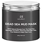 #3: Radha Beauty Dead Sea Mud Mask for Face, Acne, Oily Skin & Blackheads - 8.8 oz - 100% natural facial treatment to minimize pores, reduce wrinkles, decrease acne and Improve skin Complexion
