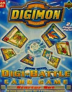 Digimon Digital Monsters Digi-Battle Card Game Starter Set 1st Edition 2 Player Pack. by Ban Dai