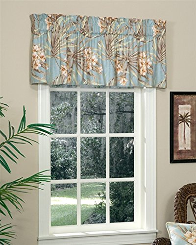 Martinique Tailored Valance by (Thomasville Floral Valance)