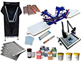 4 Color 2 Station Screen Printing Kit C