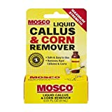 Mosco Liquid Callus & Corn Remover | Maximum Strength Salicylic Acid | 0.3 oz | Pack of 6