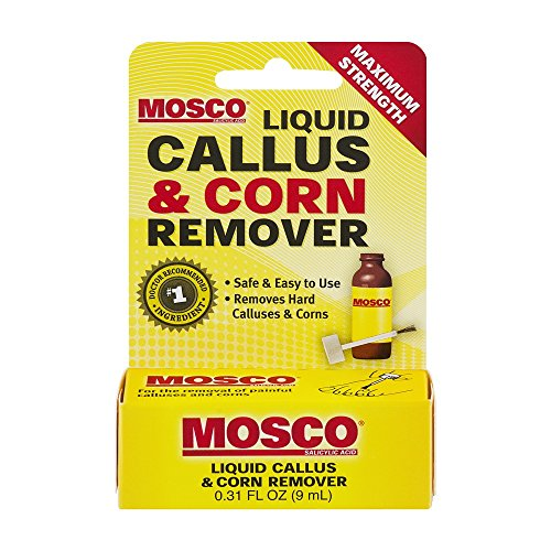 Mosco Liquid Callus & Corn Remover | Maximum Strength Salicylic Acid | 0.3...