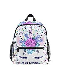 Mini Kids Backpack Daypack Cute Unicorn Pre-School Kindergarten Toddler Bag  for Travel Girls Boys c02bd37f67