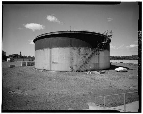 (Photo: U.S. Naval Base,Pearl Harbor,Jet Engine Fuel Storage Tank,Lehua Avenue,Hawaii,6 )