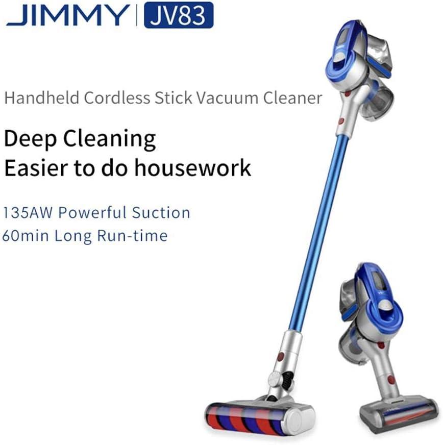 Aspiradora De Mano Inalámbrica Jimmy Jv83 135aw Capacidad De ...