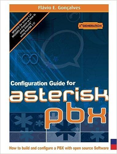 Configuration Guide for Asterisk PBX: Flavio E  Goncalves