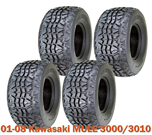 Set 4 Utility ATV tires 23x11-10 for 01-08 Kawasaki MULE 3000/3010 High Load Cap (Mule Trailer Kawasaki)