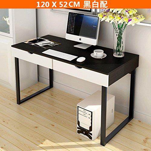 RAIN DAY Mesa consola de escritorio para ordenador con 2 cajones ...