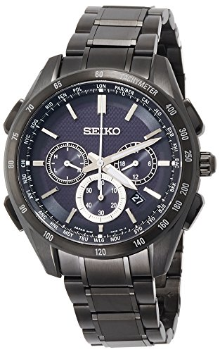 SEIKO BRIGHTZ Men's Watch Solar radio fix Sapphire glass 10 ATM Water resistant SAGA195