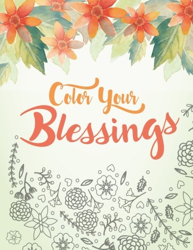 Color Your Blessings Relaxation Inspiration product image