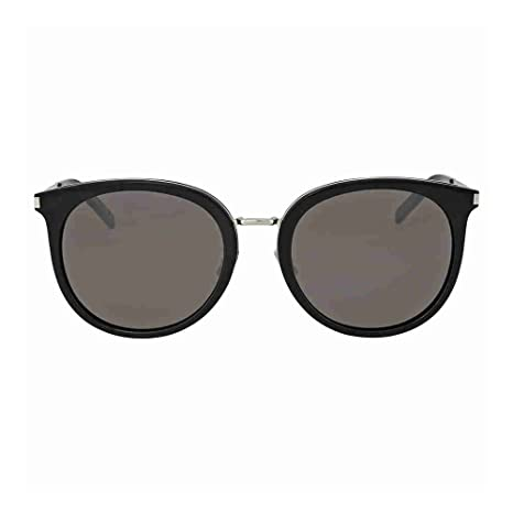 137fe6ffe82d Saint Laurent SL 117/K Black: Yves Saint Laurent: Amazon.ca: Luggage & Bags
