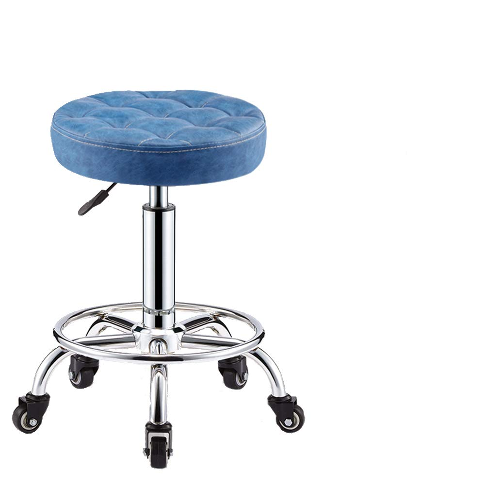 Height Adjustable 360° rotatable Round Office Office Office Barber Shop, Beauty Salon, Office, Laboratory