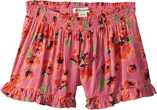 (Billabong Girls' Big Wild Wave Short, Tahiti Pink, L)