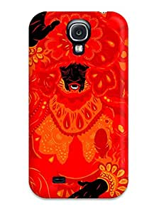 Defender Case For Galaxy S4, Psychedelic Artistic Abstract Artistic Pattern