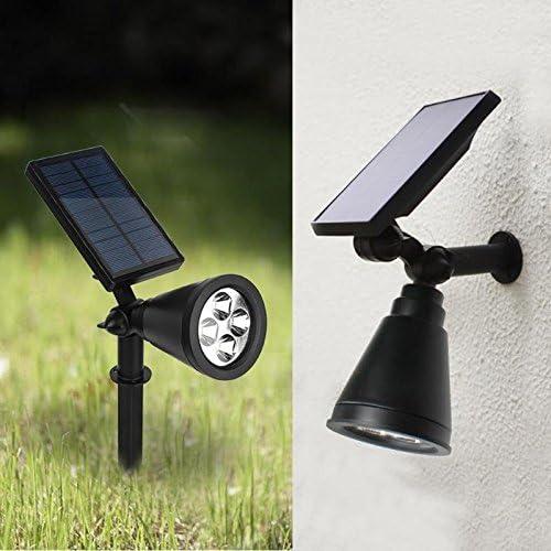 16 LED Solar Plantas Crecimiento Luz Jardín Invernadero Flor Vegetal Lámpara Ajustable 360 Grados: Amazon.es: Iluminación