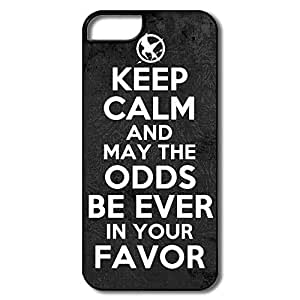 Keep Calm Hunger Games iphone 5c iphone 5c / Case, Custom Cool Design For iphone 5c iphone 5c