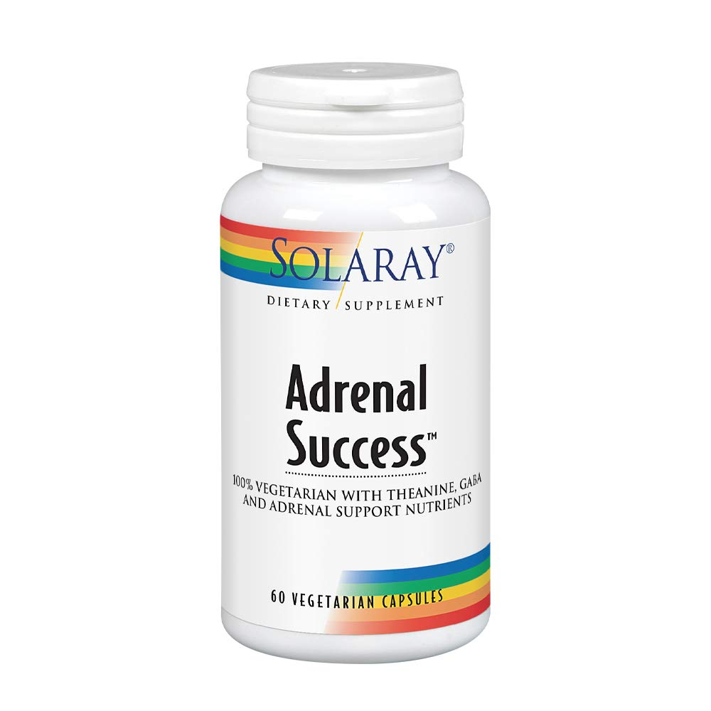 Solaray Adrenal Success Supplement, 60 Count