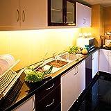 3x 11.5'' LED Under Cabinet Light Fixture Bars Kit Warm White