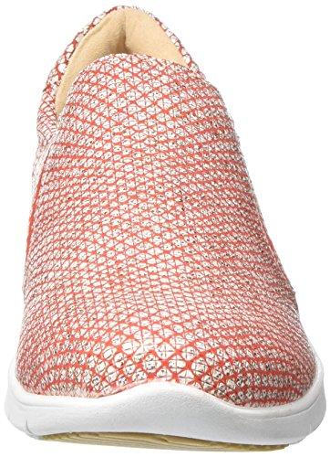 Caprice Damen 24610 Slipper Rot (Red Structure 506)
