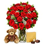 Flowers-Two-Dozen-Long-Stemmed-Red-Roses-with-Godiva-Chocolates-Bear