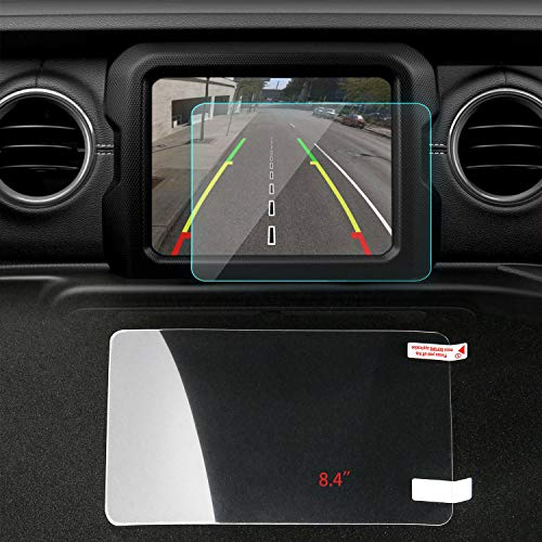 (8.4 inch Screen Protector for Jeep JL Film Media Center Navigation Touch for 2018 Jeep JL & Grand Commander (2 PCS))