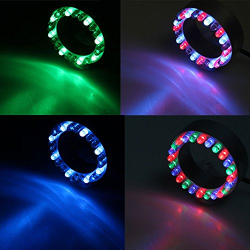 24 RGB Color Changing LED Submersible Fountain Ring by Mico (Image #2)